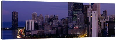 Buildings in a city, Chicago, Cook County, Illinois, USA Canvas Print #PIM624