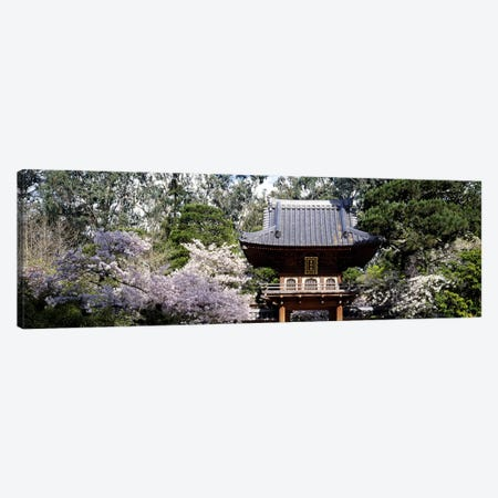 Low angle view of entrance of a parkJapanese Tea Garden, Golden Gate Park, San Francisco, California, USA Canvas Print #PIM6252} by Panoramic Images Art Print