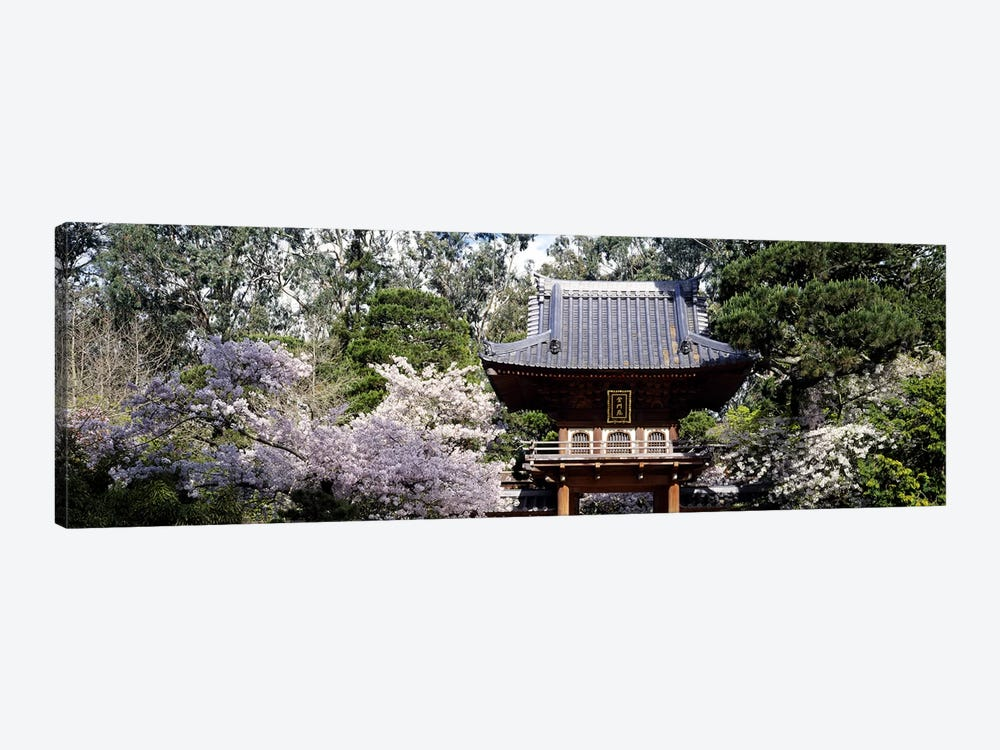 Low angle view of entrance of a parkJapanese Tea Garden, Golden Gate Park, San Francisco, California, USA by Panoramic Images 1-piece Canvas Art