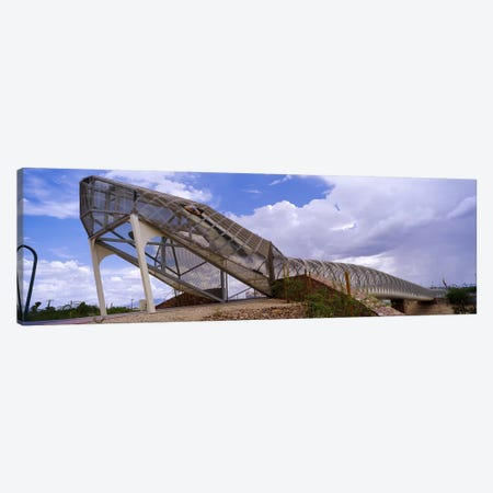 Pedestrian bridge over a river, Snake Bridge, Tucson, Arizona, USA Canvas Print #PIM6260} by Panoramic Images Canvas Art