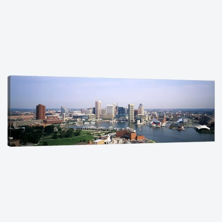 Skyscrapers in a city, Baltimore, Maryland, USA Canvas Print #PIM6266} by Panoramic Images Canvas Art Print