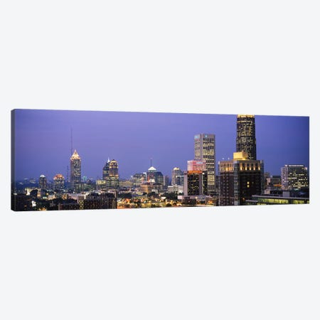 Buildings in a city, Atlanta, Georgia, USA #2 Canvas Print #PIM6271} by Panoramic Images Canvas Art Print