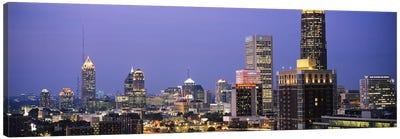 Buildings in a city, Atlanta, Georgia, USA #2 Canvas Art Print