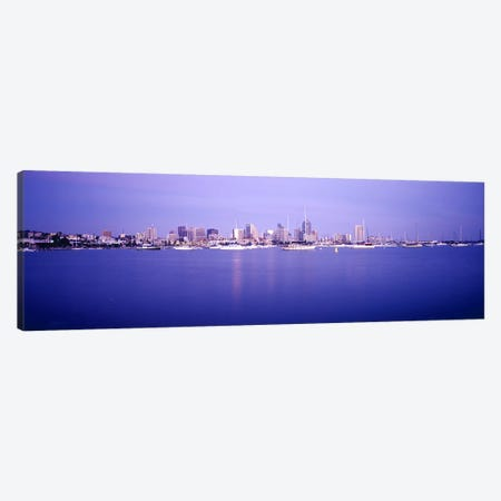 Buildings at the waterfront, San Diego, California, USA Canvas Print #PIM6282} by Panoramic Images Canvas Art