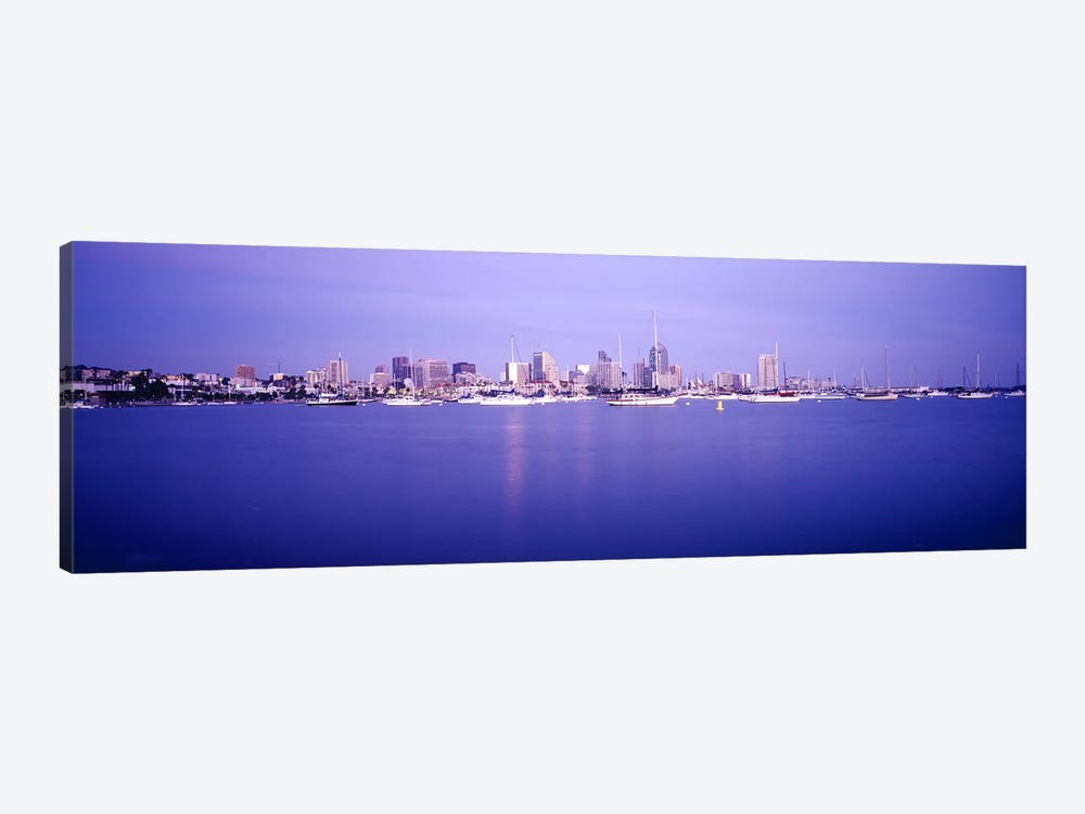 Buildings at the waterfront, San Diego, California, USA by Panoramic Images 1-piece Canvas Art Print