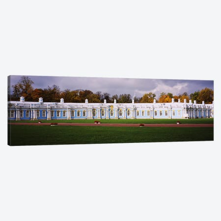 Lawn in front of a palaceCatherine Palace, Pushkin, St. Petersburg, Russia Canvas Print #PIM6286} by Panoramic Images Art Print