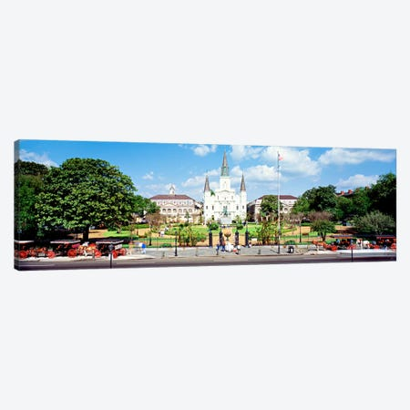 Jackson Square, New Orleans, Louisiana, USA Canvas Print #PIM62} by Panoramic Images Canvas Artwork
