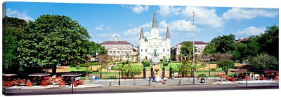 Jackson Square, New Orleans, Louisiana, USA Canvas Art Print