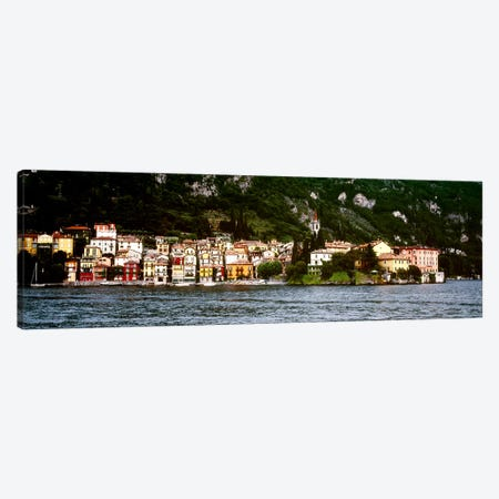 Lakeside Commune, Varenna, Lecco Province, Lombardy, Italy Canvas Print #PIM6304} by Panoramic Images Canvas Wall Art