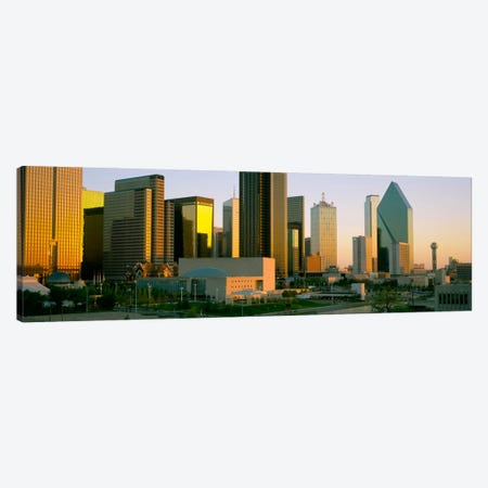 Skyscrapers in a city, Dallas, Texas, USA #3 Canvas Print #PIM630} by Panoramic Images Canvas Art Print