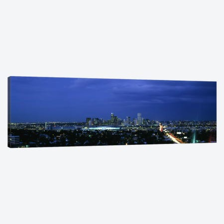 High angle view of a city, Denver, Colorado, USA #2 Canvas Print #PIM6327} by Panoramic Images Canvas Art
