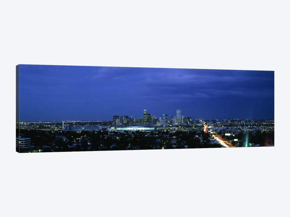 High angle view of a city, Denver, Colorado, USA #2 by Panoramic Images 1-piece Art Print