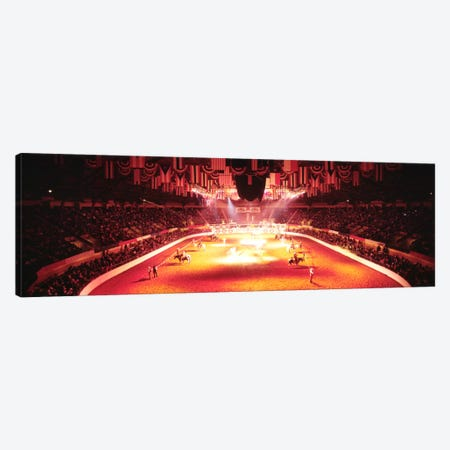 100th Stock Show And Rodeo, Fort Worth, Texas, USA Canvas Print #PIM633} by Panoramic Images Art Print