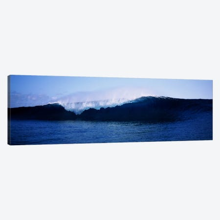Cresting Wave, Tahiti, Windward Islands, Society Islands, French Polynesia Canvas Print #PIM6342} by Panoramic Images Art Print