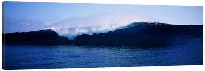 Cresting Wave, Tahiti, Windward Islands, Society Islands, French Polynesia Canvas Print #PIM6342