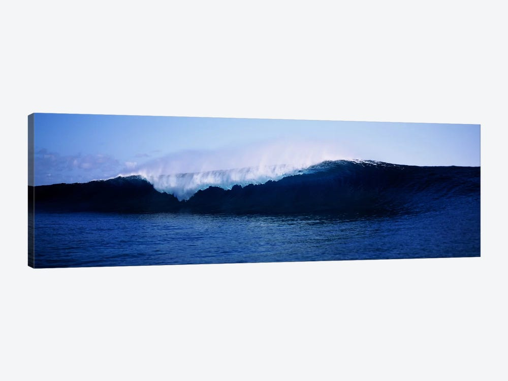 Cresting Wave, Tahiti, Windward Islands, Society Islands, French Polynesia by Panoramic Images 1-piece Canvas Artwork