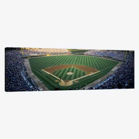 High angle view of spectators in a stadiumU.S. Cellular Field, Chicago White Sox, Chicago, Illinois, USA Canvas Print #PIM6376} by Panoramic Images Canvas Art Print