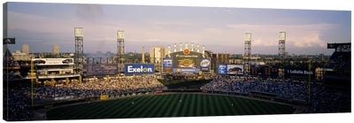 High angle view of spectators in a stadium, U.S. Cellular Field, Chicago, Illinois, USA Canvas Print #PIM6377