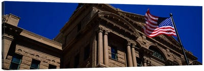 Low angle view of a courthouse, Fort Worth, Texas, USA Canvas Print #PIM637