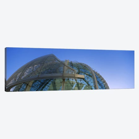 Low angle view of a city hall, Downtown San Jose, San Jose, Silicon Valley, Santa Clara County, California, USA Canvas Print #PIM6408} by Panoramic Images Canvas Artwork