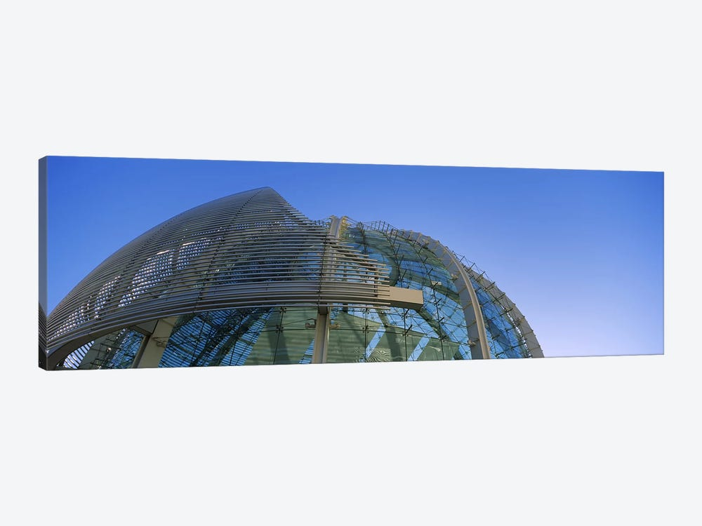 Low angle view of a city hall, Downtown San Jose, San Jose, Silicon Valley, Santa Clara County, California, USA by Panoramic Images 1-piece Canvas Print
