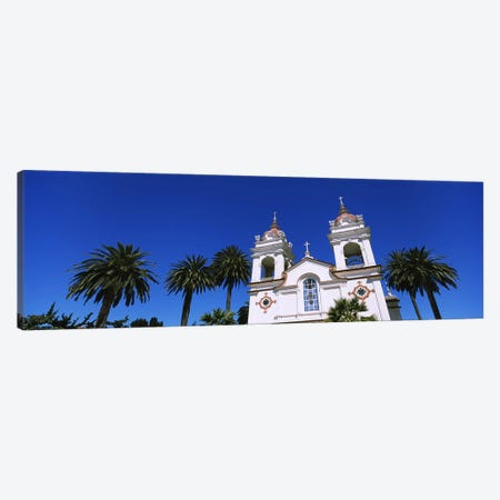High section view of a cathedral, Portuguese Cathedral, San Jose, Silicon Valley, Santa Clara County, California, USA Canvas Print #PIM6414} by Panoramic Images Canvas Wall Art