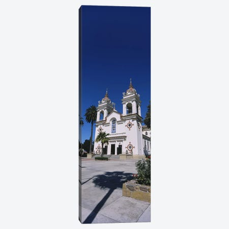Facade of a cathedral, Portuguese Cathedral, San Jose, Silicon Valley, Santa Clara County, California, USA Canvas Print #PIM6416} by Panoramic Images Canvas Artwork