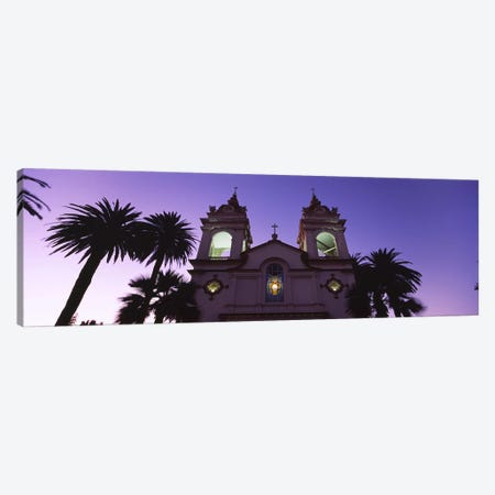 Low-Angle View Of Five Wounds Portuguese National Church, San Jose, Santa Clara County, California, USA Canvas Print #PIM6417} by Panoramic Images Canvas Art