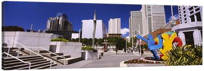 Skyscrapers in a city, Moscone Center, South of Market, San Francisco, California, USA Canvas Print #PIM6433