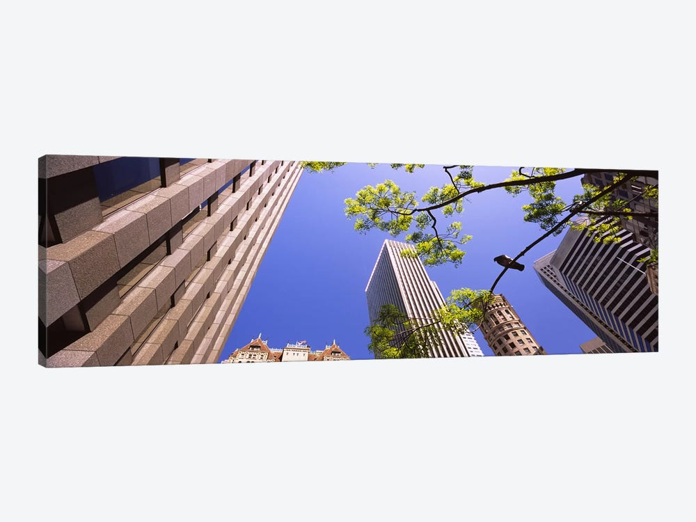 Low angle view of buildings in a city, San Francisco, California, USA by Panoramic Images 1-piece Canvas Wall Art