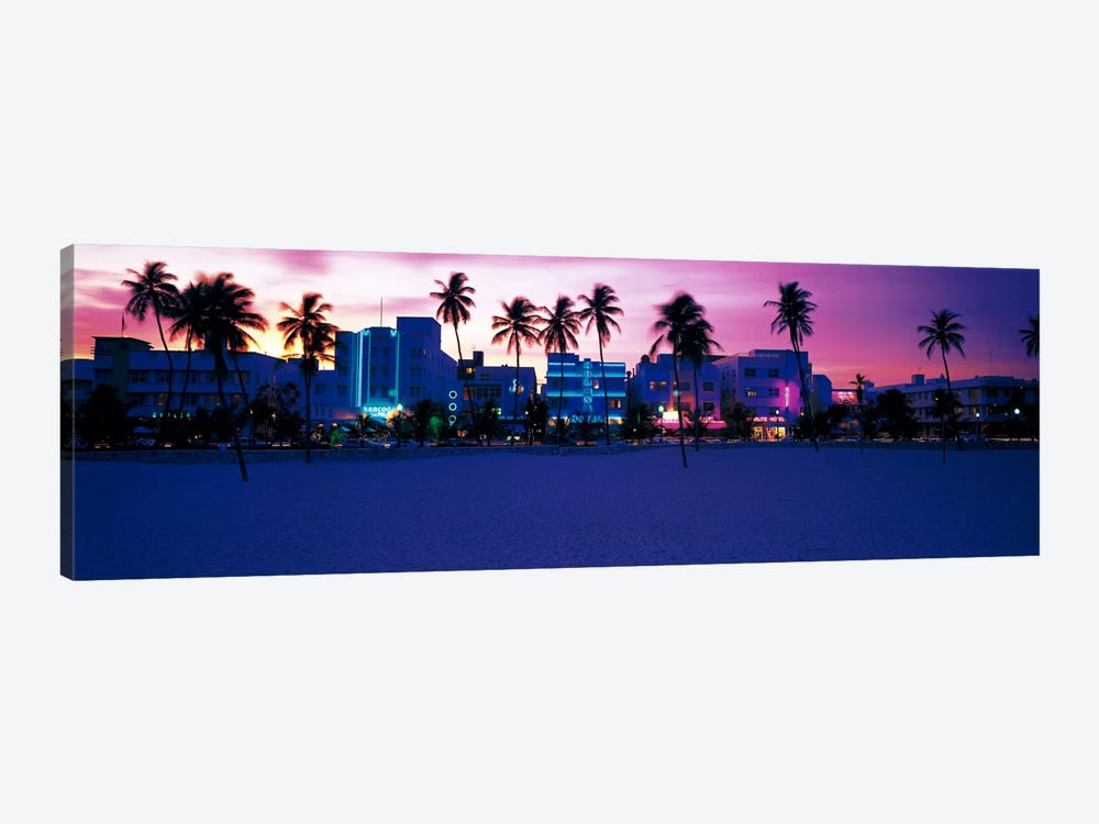 Ocean Drive Miami Beach FL USA by Panoramic Images 1-piece Art Print