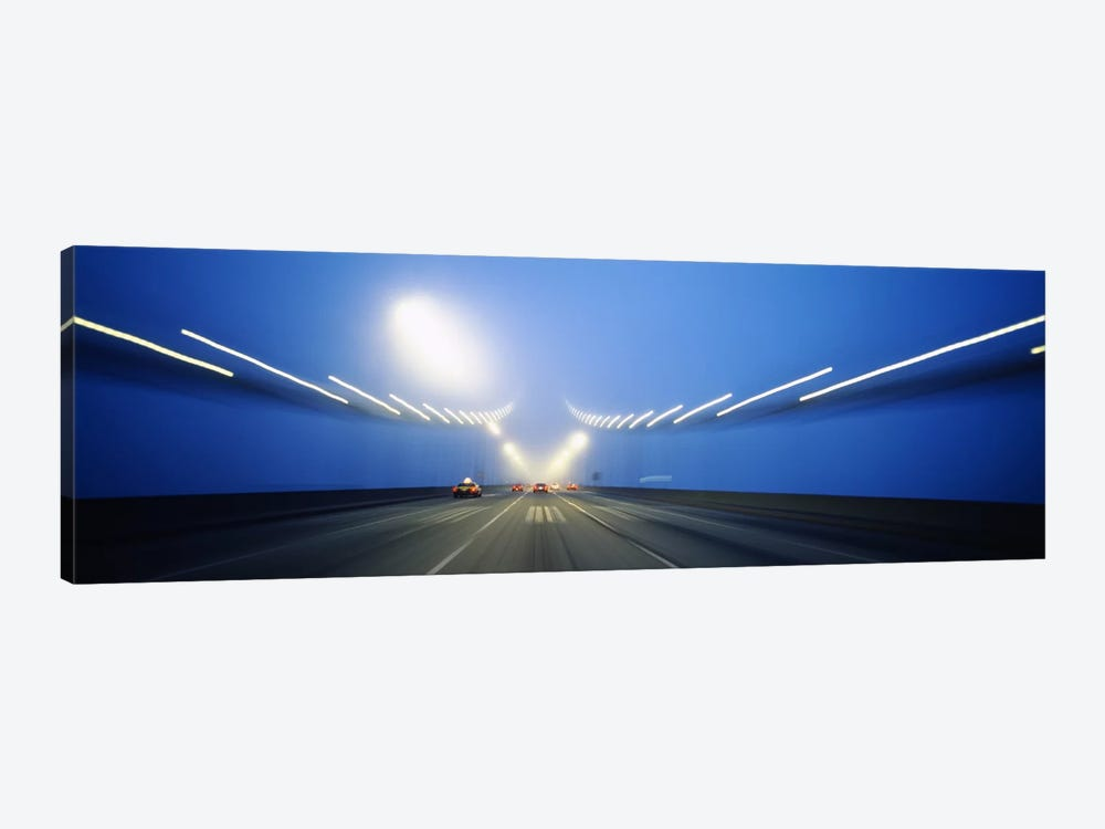Cars on a suspension bridge, Bay Bridge, San Francisco, California, USA #3 by Panoramic Images 1-piece Canvas Wall Art