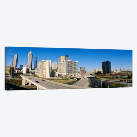 Skyscrapers in a cityCityscape, Atlanta, Georgia, USA Canvas Print #PIM645} by Panoramic Images Canvas Print