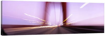 Traffic on a suspension bridge, Golden Gate Bridge, San Francisco, California, USA Canvas Print #PIM6478