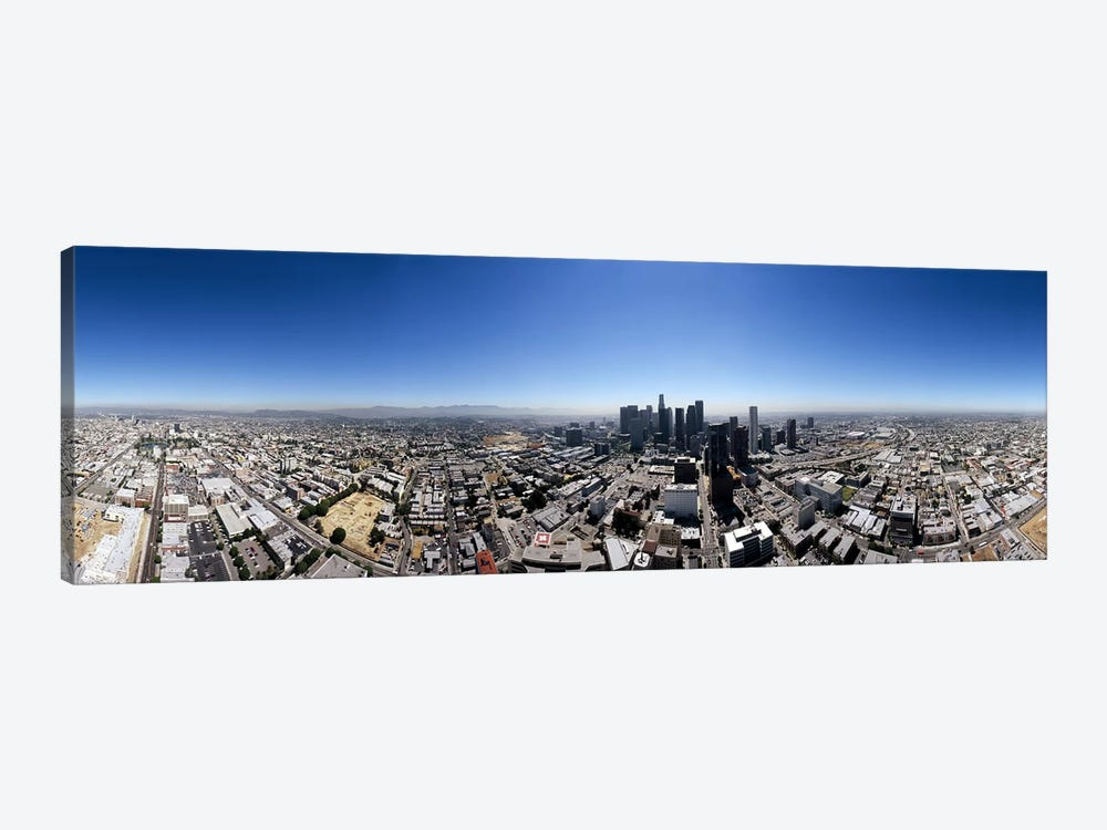 360 degree view of a cityCity of Los Angeles, Los Angeles County, California, USA by Panoramic Images 1-piece Art Print