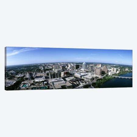Aerial view of a cityAustin, Travis County, Texas, USA Canvas Print #PIM6498} by Panoramic Images Art Print