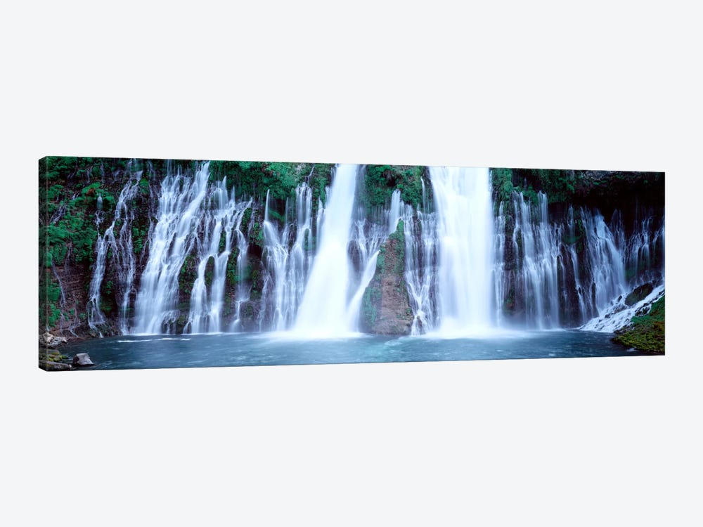 Burney Falls, McArthur-Burney Falls Memorial State Park, Shasta County, California, USA by Panoramic Images 1-piece Canvas Art Print