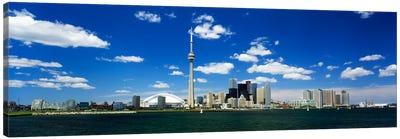 Dowtown Skyline As Seen From Lake Ontario, Toronto, Ontario, Canada Canvas Art Print