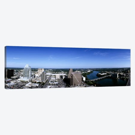 Aerial view of a cityAustin, Travis County, Texas, USA Canvas Print #PIM6501} by Panoramic Images Canvas Art Print