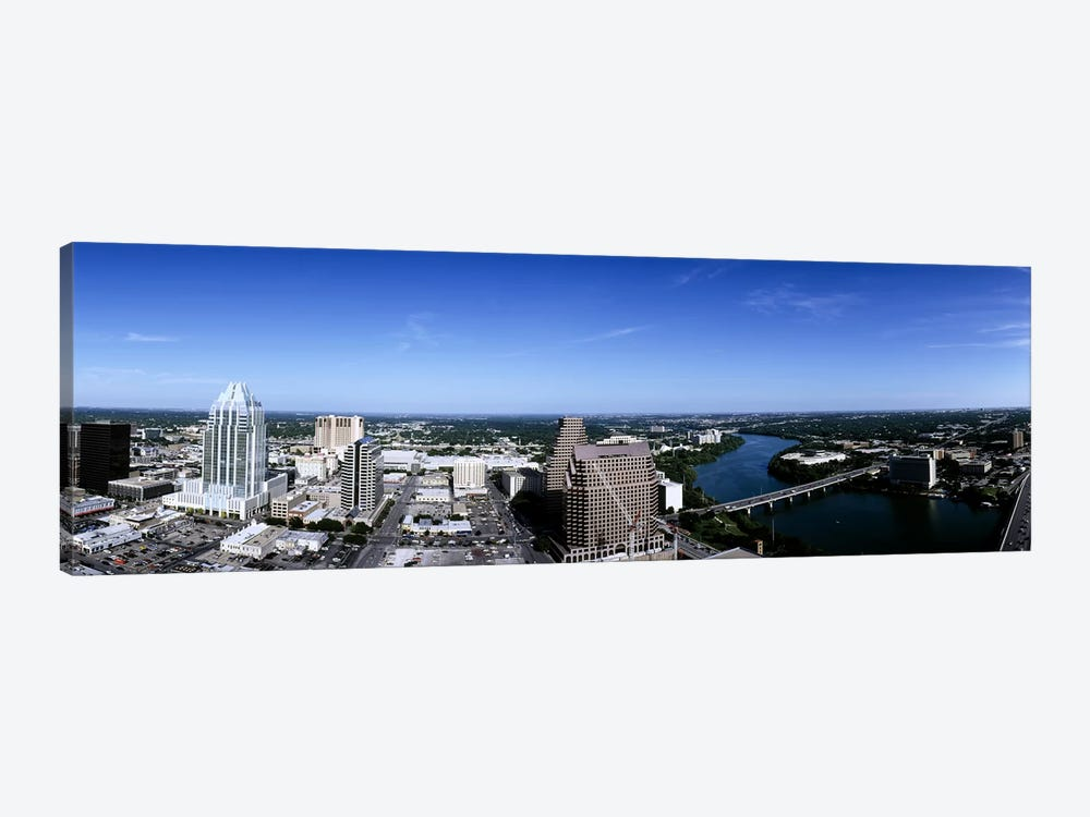 Aerial view of a cityAustin, Travis County, Texas, USA by Panoramic Images 1-piece Art Print