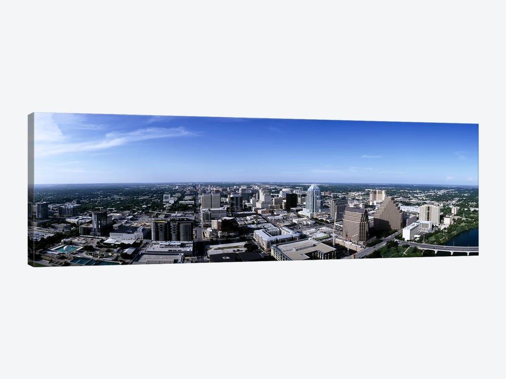 High angle view of a cityAustin, Texas, USA by Panoramic Images 1-piece Canvas Artwork