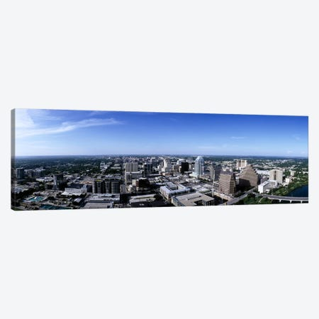 High angle view of a cityAustin, Texas, USA Canvas Print #PIM6502} by Panoramic Images Art Print