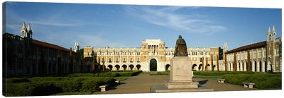 Statue in the courtyard of an educational buildingRice University, Houston, Texas, USA Canvas Print #PIM6523