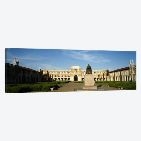 Statue in the courtyard of an educational buildingRice University, Houston, Texas, USA Canvas Print #PIM6523} by Panoramic Images Art Print