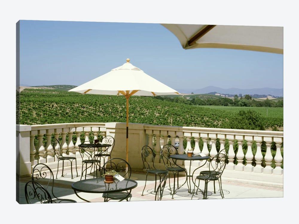 Vineyards Terrace at Winery Napa Valley CA USA Canvas Wall Art | iCanvas