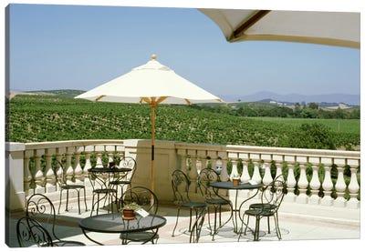 Vineyards Terrace at Winery Napa Valley CA USA Canvas Art Print