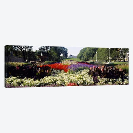 Grant Park, Chicago, Illinois, USA Canvas Print #PIM6544} by Panoramic Images Canvas Artwork