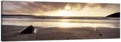 Seascape Sunset, Pembrokeshire, Wales, United Kingdom Canvas Print #PIM6579