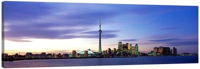 Skyline At Dusk, Toronto, Ontario, Canada Canvas Print #PIM65