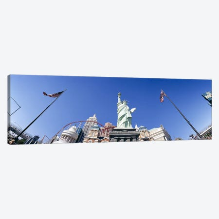Low angle view of a statue, Replica Statue Of Liberty, Las Vegas, Clark County, Nevada, USA Canvas Print #PIM6608} by Panoramic Images Canvas Art